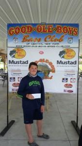 5th Place - Jon Lakota 6.13 pounds