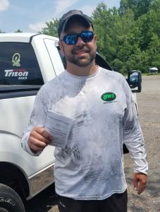 Eric Davis - 1st place Co-Angler Lake Neatahwanta - 6/6/2021