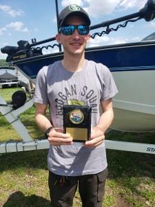 Matthew Doane 1st Place Co-angler Cross Lake - 11.84