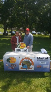 Bill Kays and Tom Hudson - Big Bass - 4.61 pounds