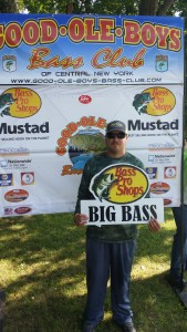 Big Bass - Chris Sperling - 4.12 pounds.