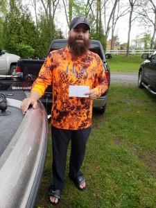 Jon Metot - Co-Angler 1st Place