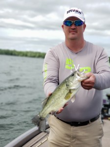 Don Bell with a Cross Lake largemouth