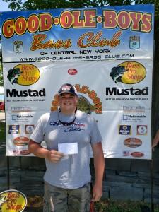 2nd Place Co-Angler Josh Hylkema - 12.30