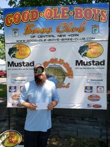1st Place Co-Angler - Jon Metot - 13.90