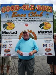 1st place Bill Kays - 17.68