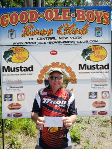 2nd place Co-Angler Butch Kritsburg - 7.36