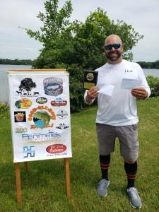 Eric Davis 1st Place Co-Angler  8.15