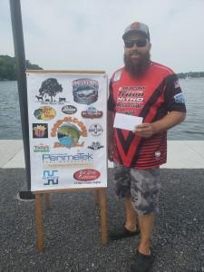 Jon Metot 1st Place Co-Angler 21.93
