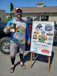Eric Davis 1st Place Co-Angler 6.23 pounds