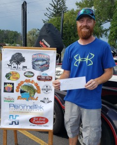 Kevin Stone 1st place Boater Cayuga Lake